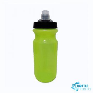 กระบอกน้ำจักรยาน รุ่น PL058 สีเขียวนีออน 2