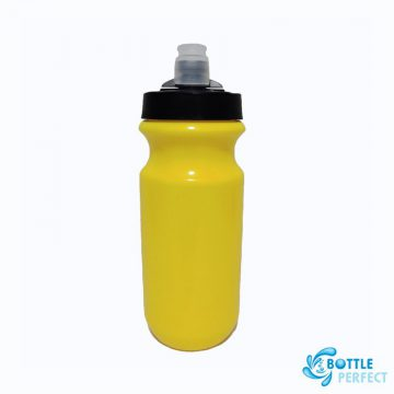 กระบอกน้ำจักรยาน รุ่น PL058 สีเหลือง 2