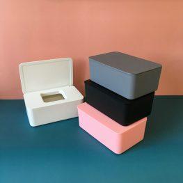 กล่องทิชชู่ กล่องใส่แมสก์ รุ่น FBOX-019