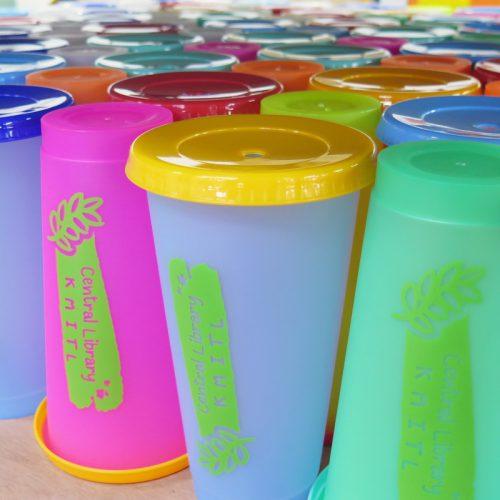 แก้วน้ำเปลี่ยนสี สกรีนโลโก้ (2)